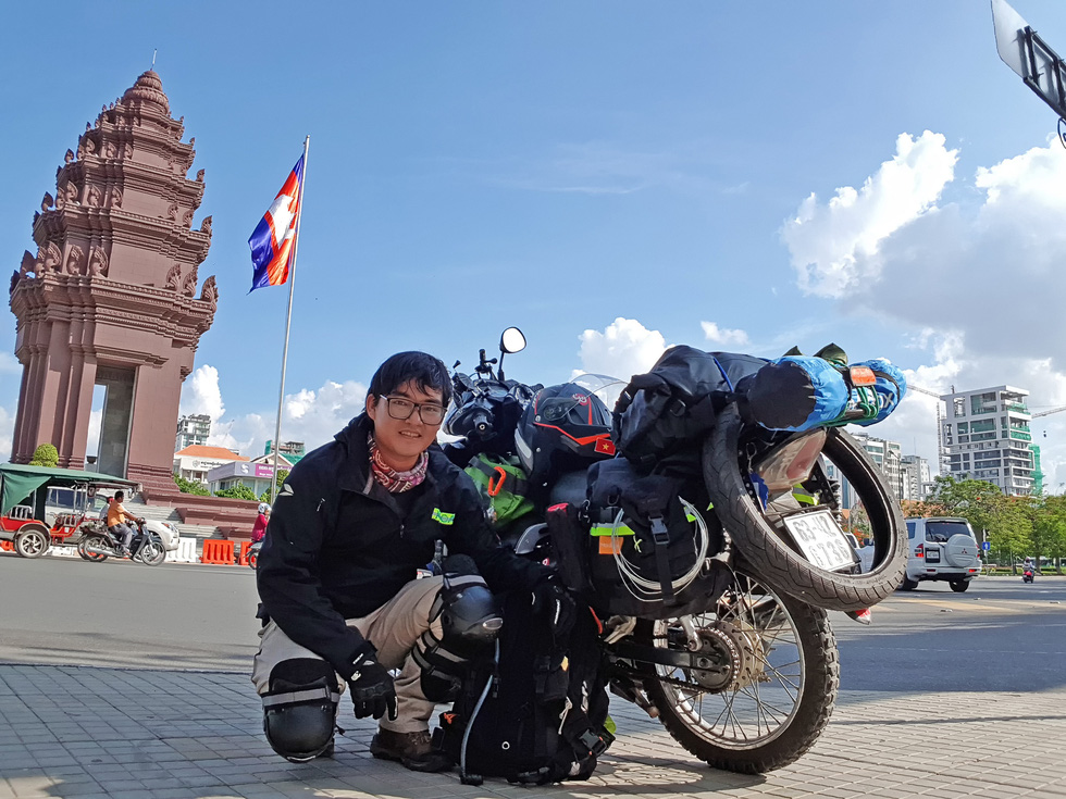 Chàng trai Việt đi xe máy vòng quanh thế giới: Học được muôn ngàn bài học ý nghĩa - Ảnh 10.