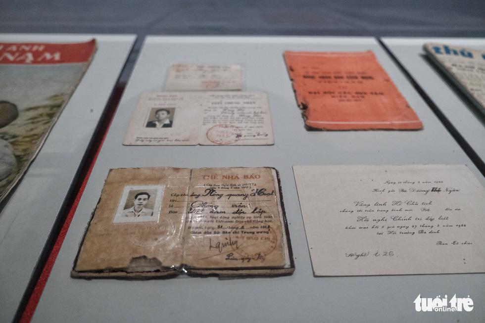 Bảo tàng Báo chí Việt Nam trước ngày khai trương - Ảnh 3.