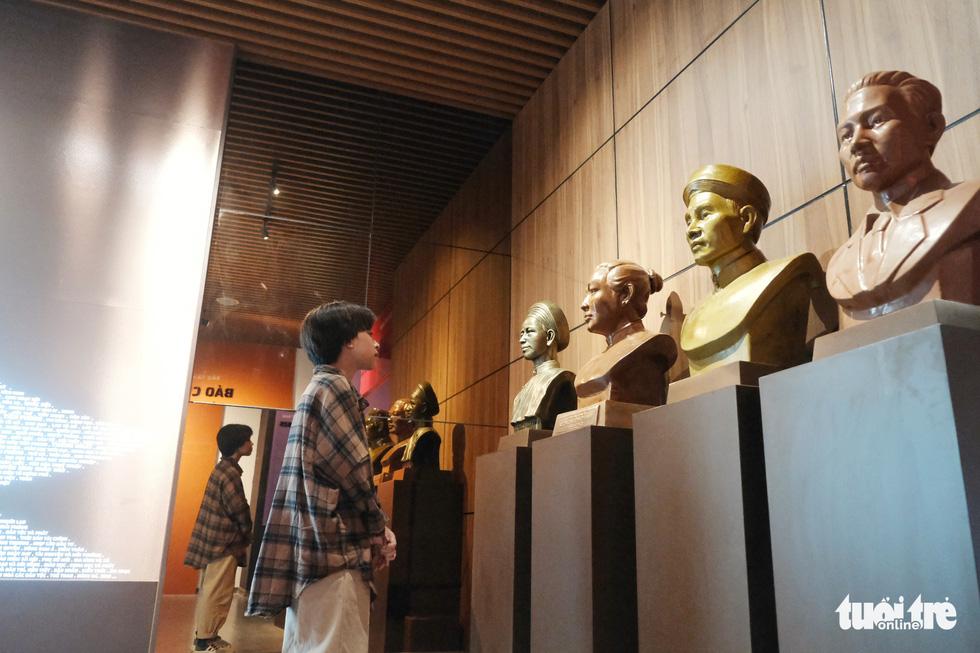 Bảo tàng Báo chí Việt Nam trước ngày khai trương - Ảnh 6.