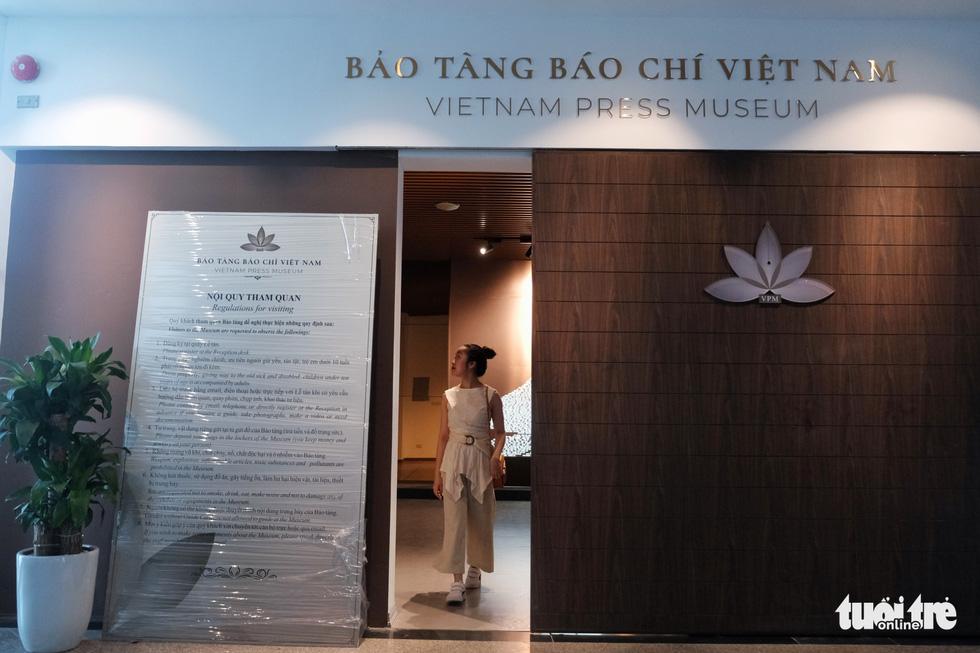 Bảo tàng Báo chí Việt Nam trước ngày khai trương - Ảnh 1.