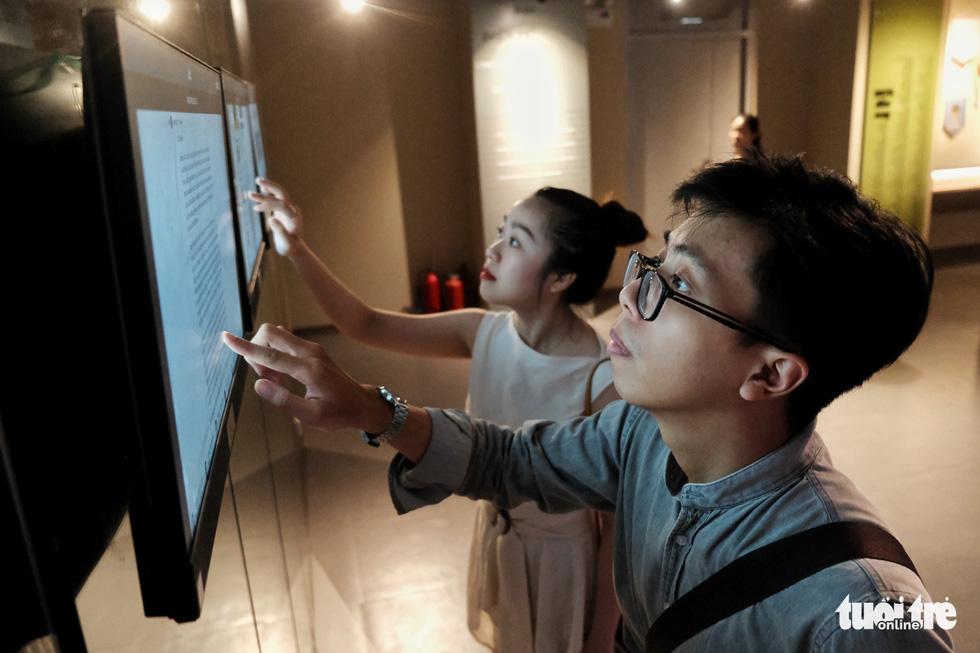 Bảo tàng Báo chí Việt Nam trước ngày khai trương - Ảnh 8.