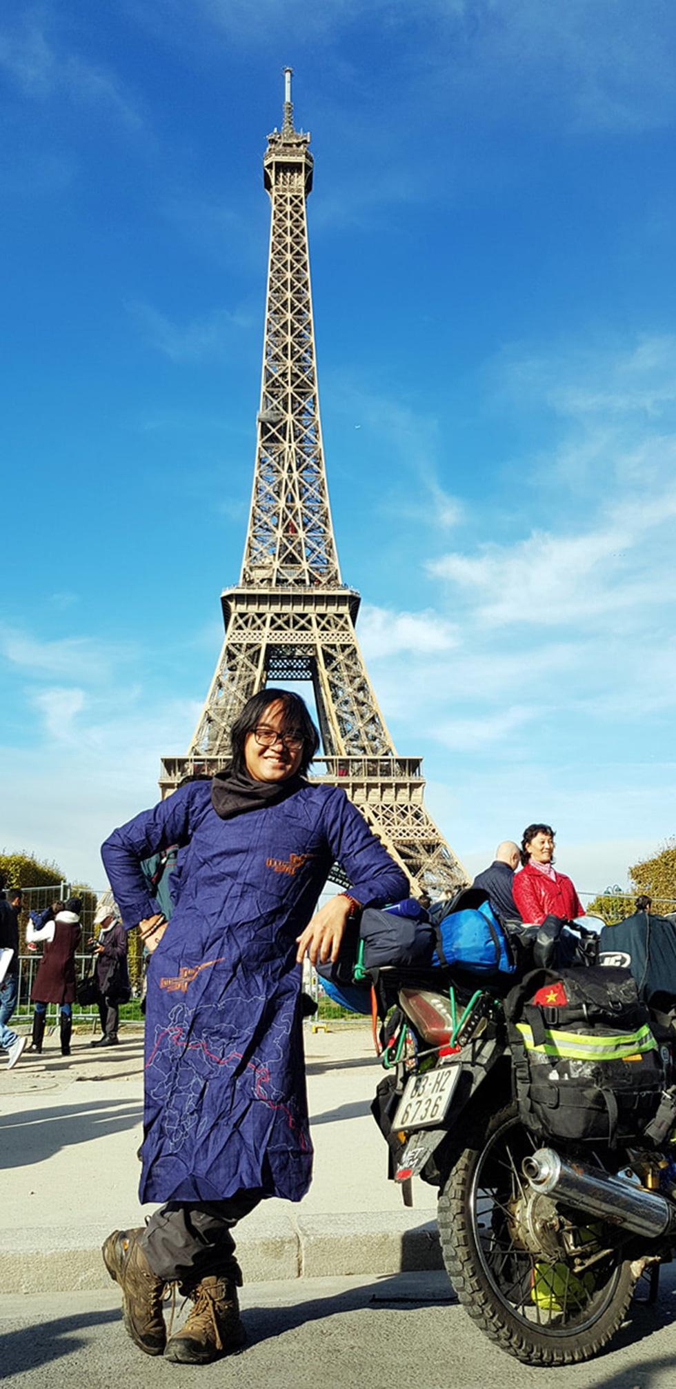 Chàng trai Việt đi xe máy vòng quanh thế giới: Học được muôn ngàn bài học ý nghĩa - Ảnh 4.