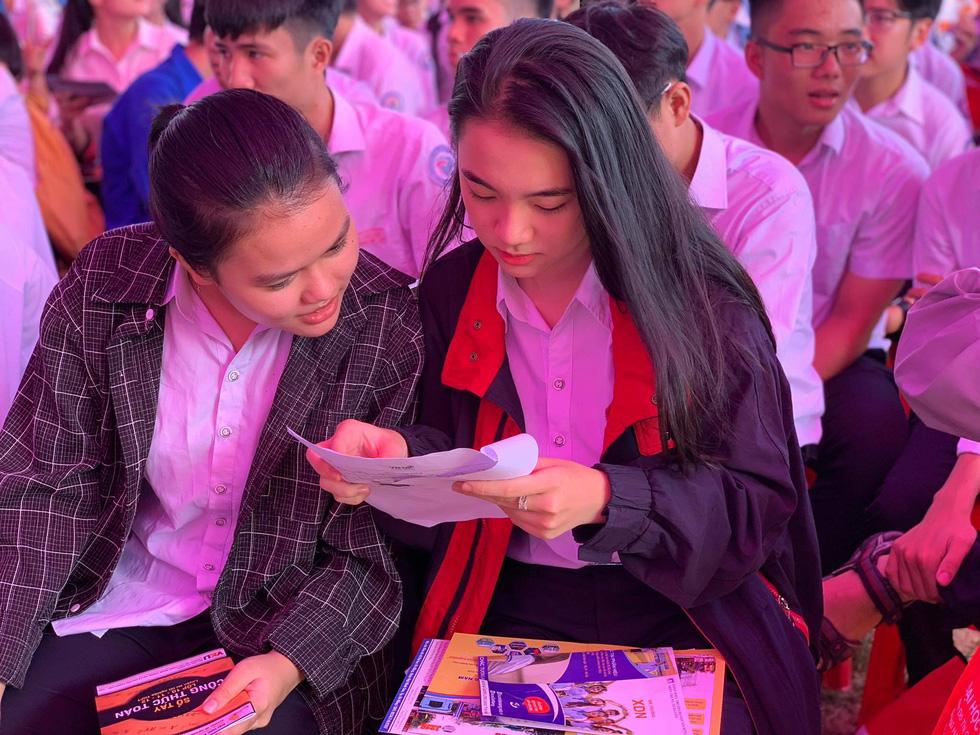 Sáng nay 20-6, tư vấn tuyển sinh - hướng nghiệp 2020 ở Quảng Nam - Ảnh 1.