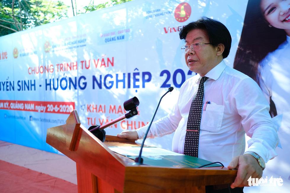 Sáng nay 20-6, tư vấn tuyển sinh - hướng nghiệp 2020 ở Quảng Nam - Ảnh 2.