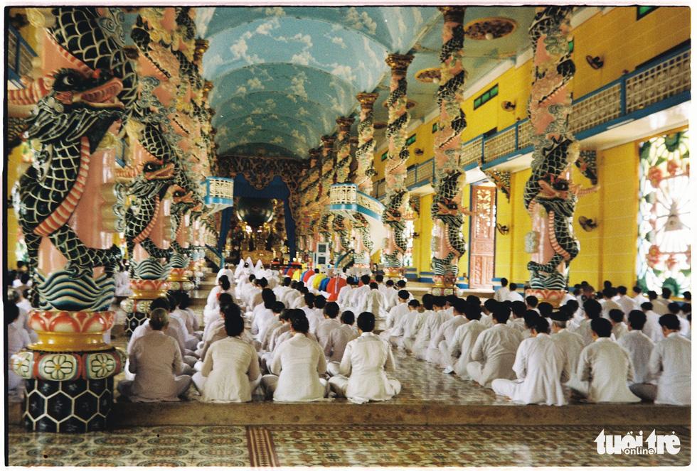 Độc đáo kiến trúc tòa thánh lớn nhất của đạo Cao Đài - Ảnh 6.