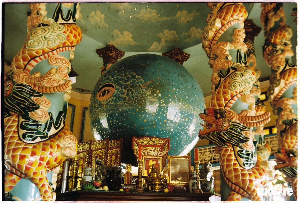 Độc đáo kiến trúc tòa thánh lớn nhất của đạo Cao Đài - Ảnh 3.