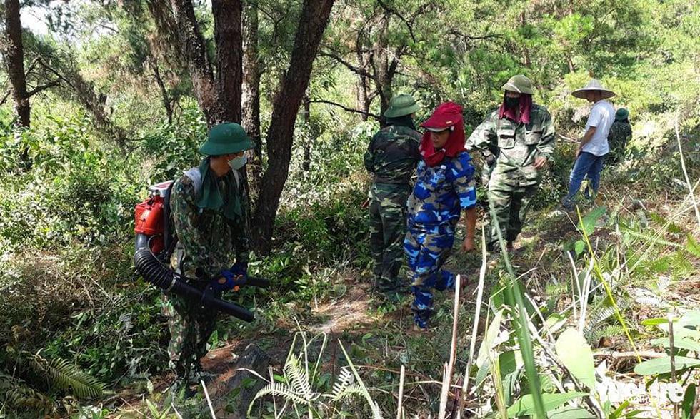 Hơn 500 người đang chữa cháy rừng ở Hà Tĩnh - Ảnh 6.