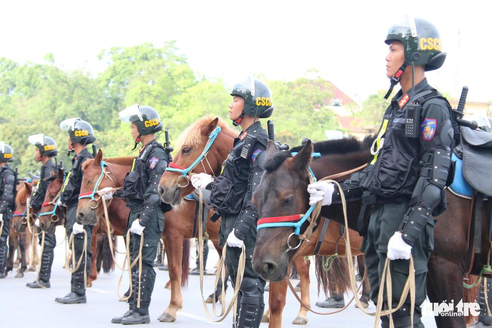 Ra mắt Đoàn cảnh sát cơ động kỵ binh - Ảnh 7.