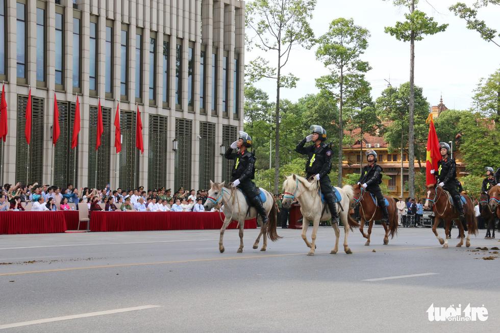 Ra mắt Đoàn cảnh sát cơ động kỵ binh - Ảnh 5.
