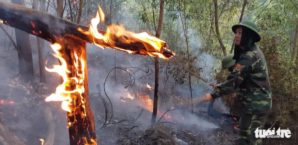 Lao mình vào lửa dữ cứu rừng xuyên đêm  - Ảnh 7.
