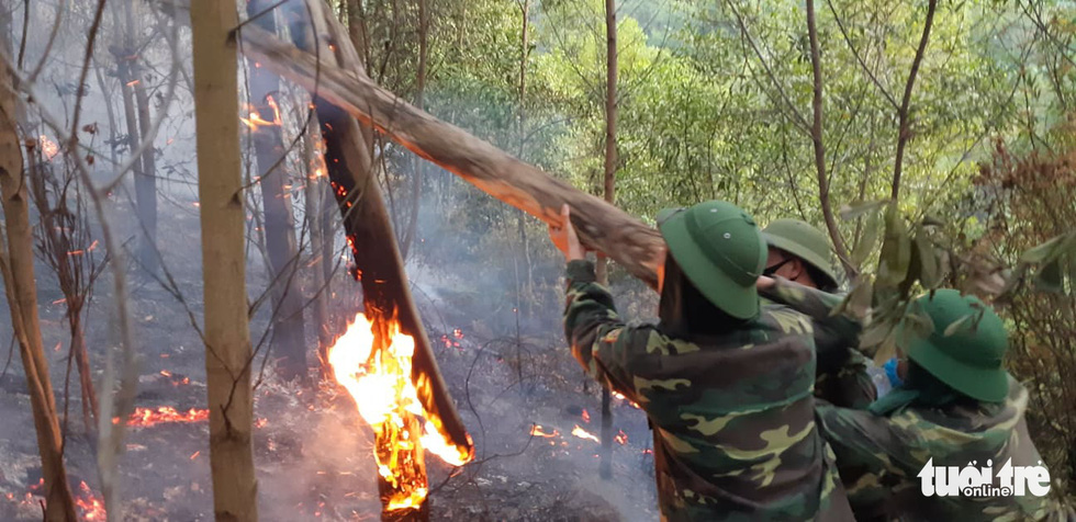 Lao mình vào lửa dữ cứu rừng xuyên đêm  - Ảnh 4.