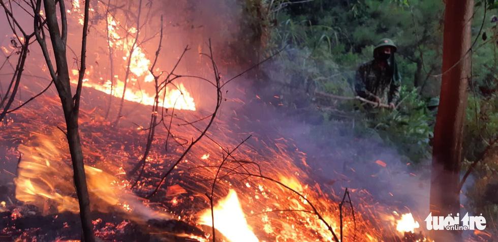 Lao mình vào lửa dữ cứu rừng xuyên đêm  - Ảnh 11.
