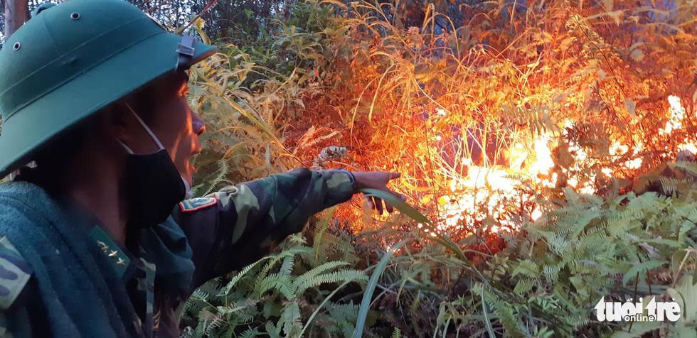 Lao mình vào lửa dữ cứu rừng xuyên đêm  - Ảnh 6.