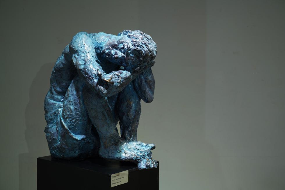 Ngắm tác phẩm của các điêu khắc gia sau mùa dịch COVID-19 - Ảnh 9.