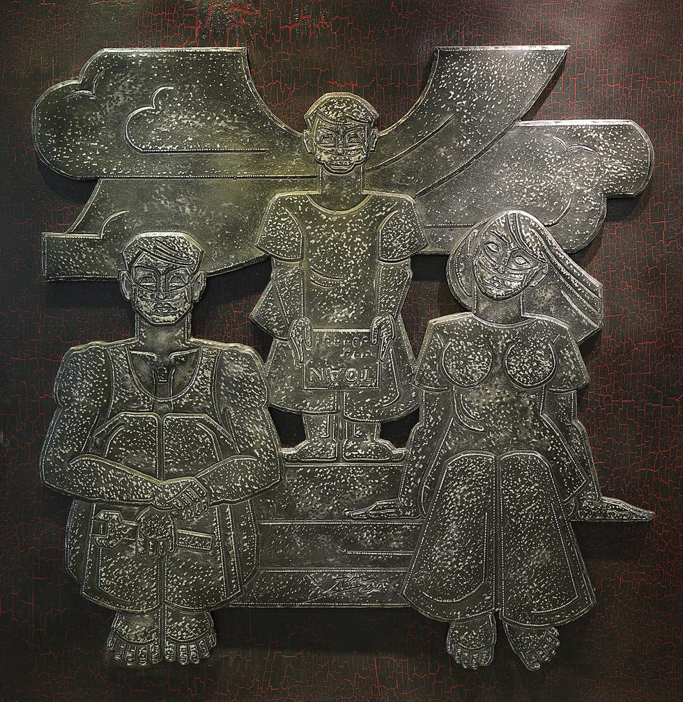 Ngắm tác phẩm của các điêu khắc gia sau mùa dịch COVID-19 - Ảnh 6.