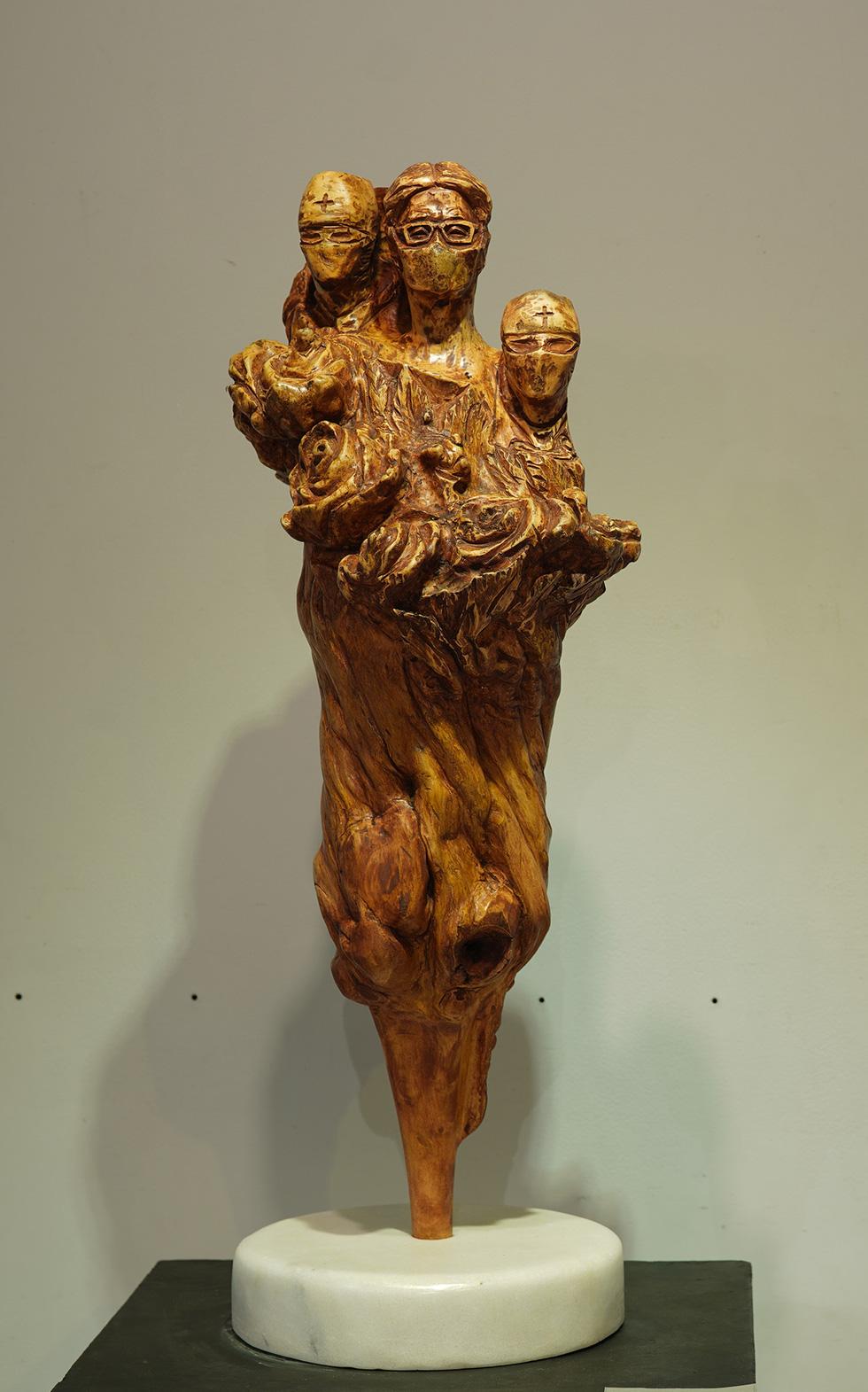 Ngắm tác phẩm của các điêu khắc gia sau mùa dịch COVID-19 - Ảnh 7.