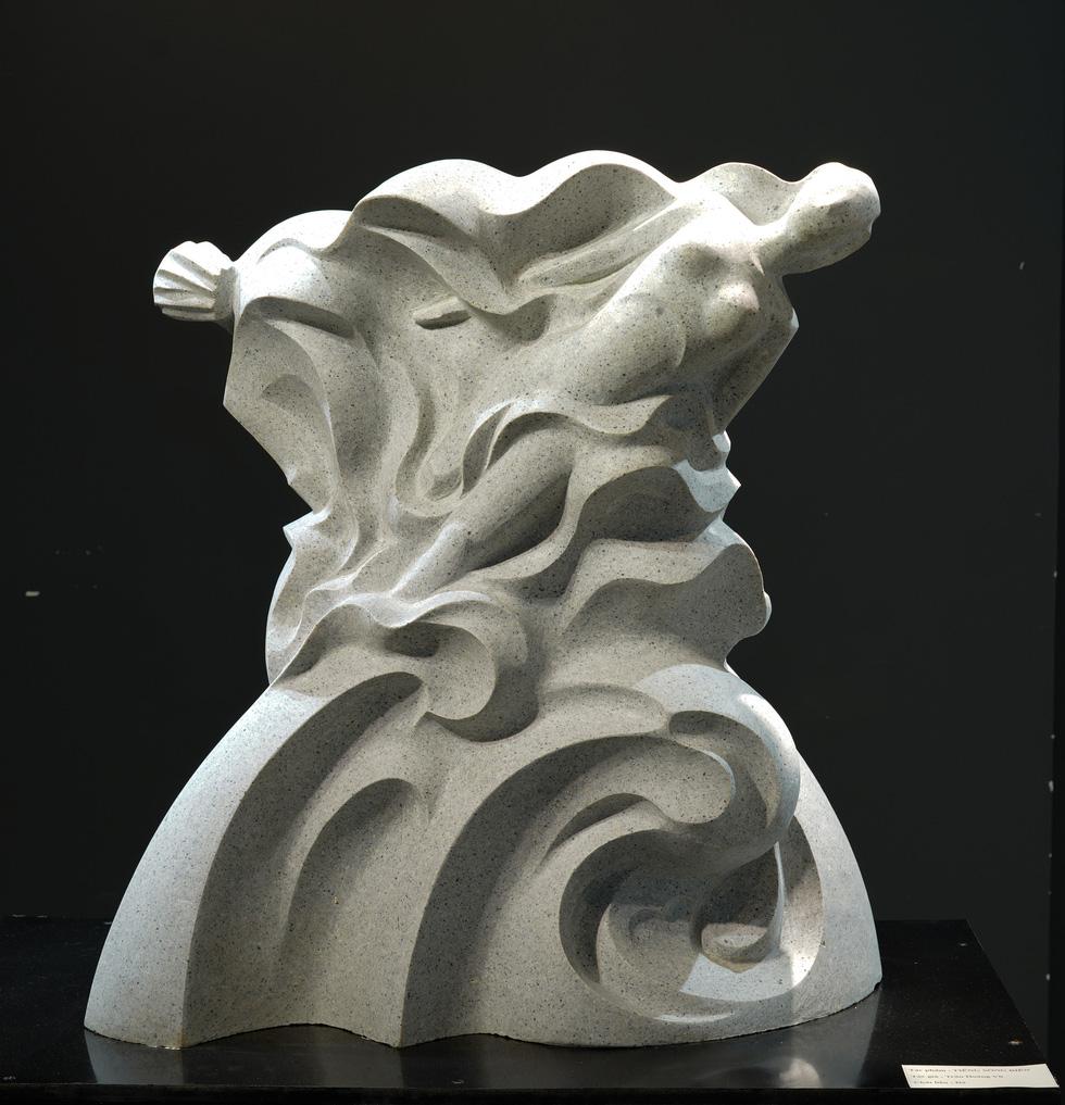 Ngắm tác phẩm của các điêu khắc gia sau mùa dịch COVID-19 - Ảnh 12.