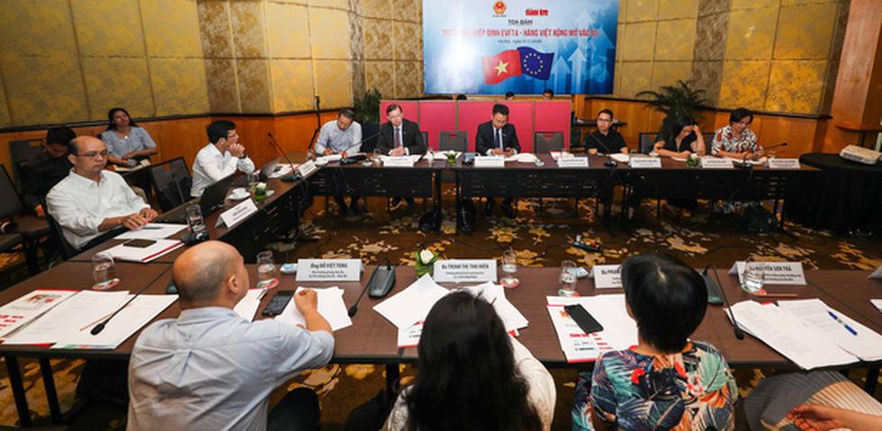 EVFTA: Cơ hội rất lớn cho hàng Việt vào EU - Ảnh 1.