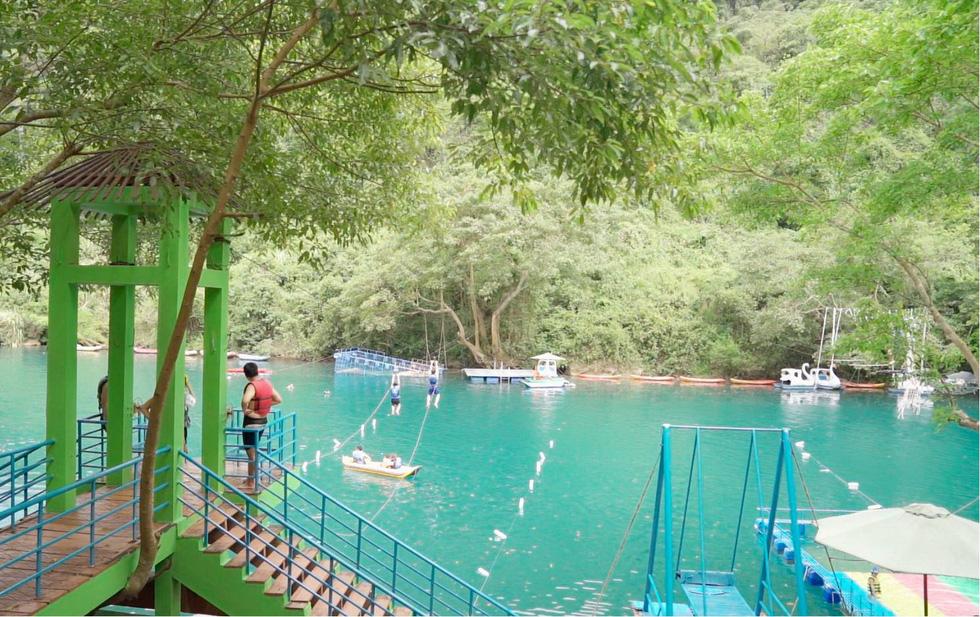 Đến Quảng Bình tắm mát suối Chày, Nước Moọc - Ảnh 4.