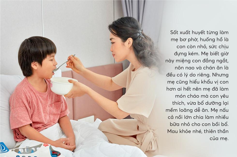 Hiểu con cần gì khi sốt xuất huyết để mẹ chăm nhanh khỏe - Ảnh 4.