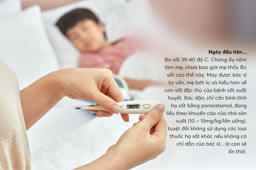 Hiểu con cần gì khi sốt xuất huyết để mẹ chăm nhanh khỏe - Ảnh 1.