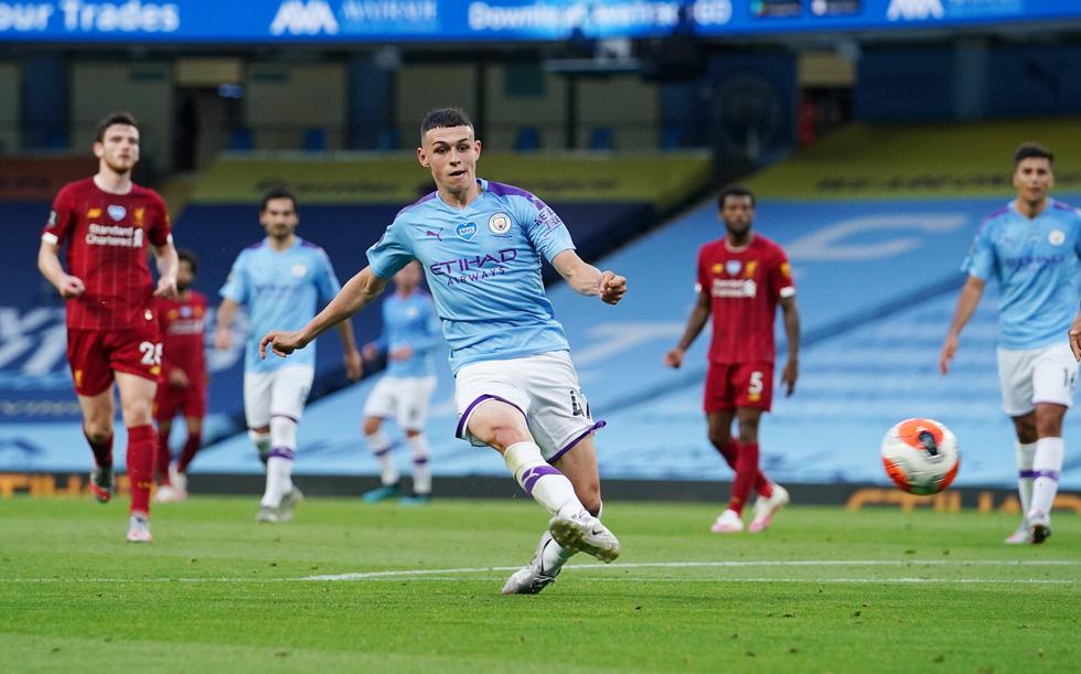 Chùm ảnh: Man City chào tân vương Liverpool, tặng luôn trận thua muối mặt - Ảnh 9.