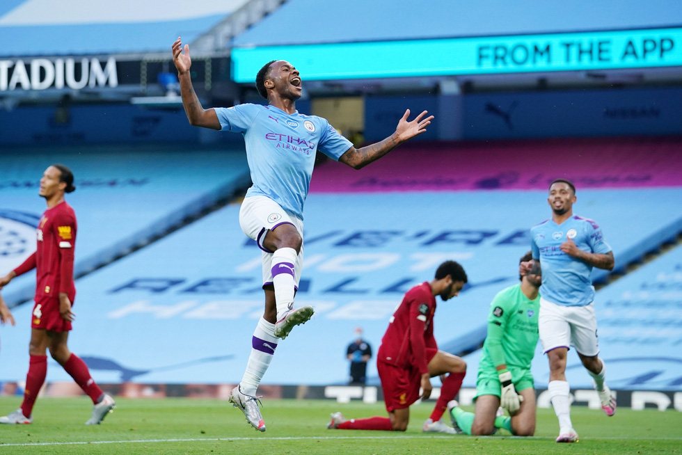 Chùm ảnh: Man City chào tân vương Liverpool, tặng luôn trận thua muối mặt - Ảnh 8.