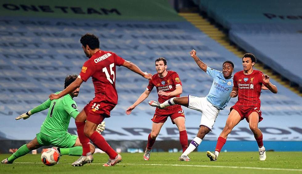 Chùm ảnh: Man City chào tân vương Liverpool, tặng luôn trận thua muối mặt - Ảnh 12.