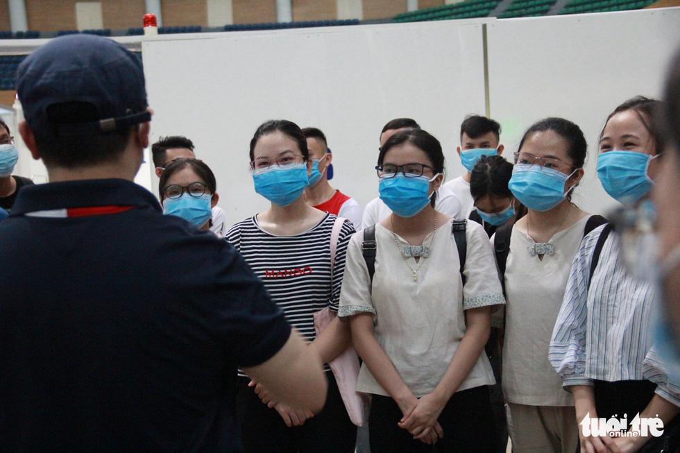 Vận hành thử bệnh viện dã chiến ở cung thể thao Tiên Sơn - Ảnh 5.