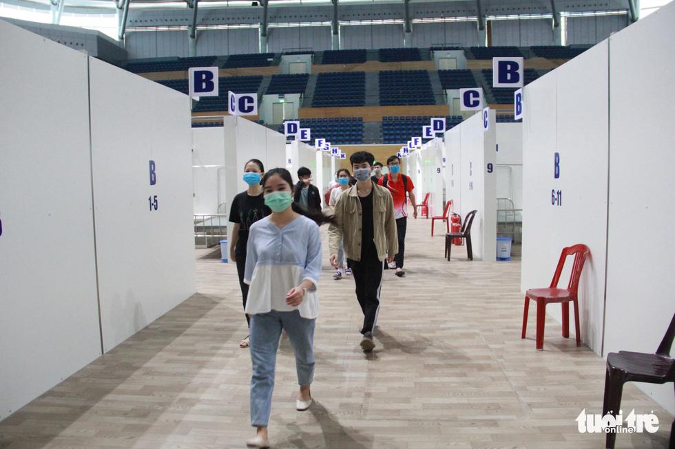 Vận hành thử bệnh viện dã chiến ở cung thể thao Tiên Sơn - Ảnh 7.