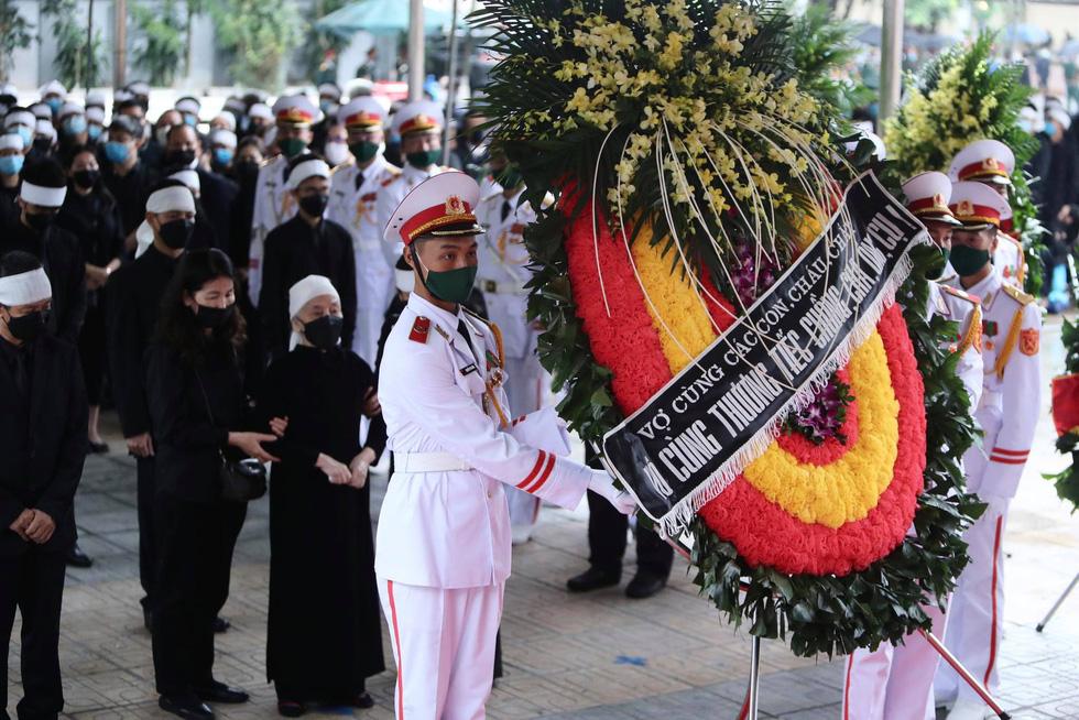 Hai ngày quốc tang, tưởng nhớ và tiễn biệt nguyên Tổng bí thư Lê Khả Phiêu - Ảnh 6.