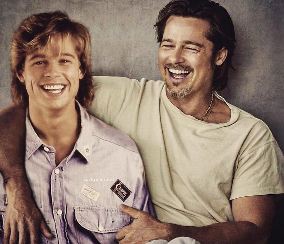 Jennifer Aniston, Tom Hanks, Brad Pitt, Johnny Depp... khoác vai chính mình thời trẻ - Ảnh 3.