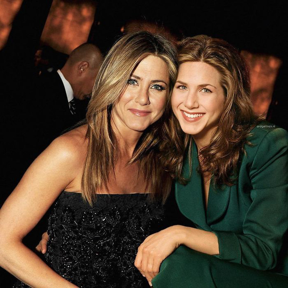 Jennifer Aniston, Tom Hanks, Brad Pitt, Johnny Depp... khoác vai chính mình thời trẻ - Ảnh 2.