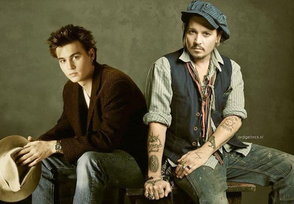 Jennifer Aniston, Tom Hanks, Brad Pitt, Johnny Depp... khoác vai chính mình thời trẻ - Ảnh 7.