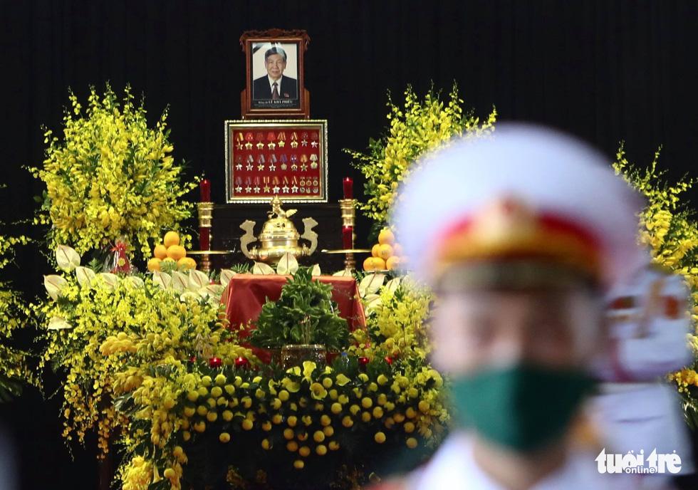 Hai ngày quốc tang, tưởng nhớ và tiễn biệt nguyên Tổng bí thư Lê Khả Phiêu - Ảnh 1.