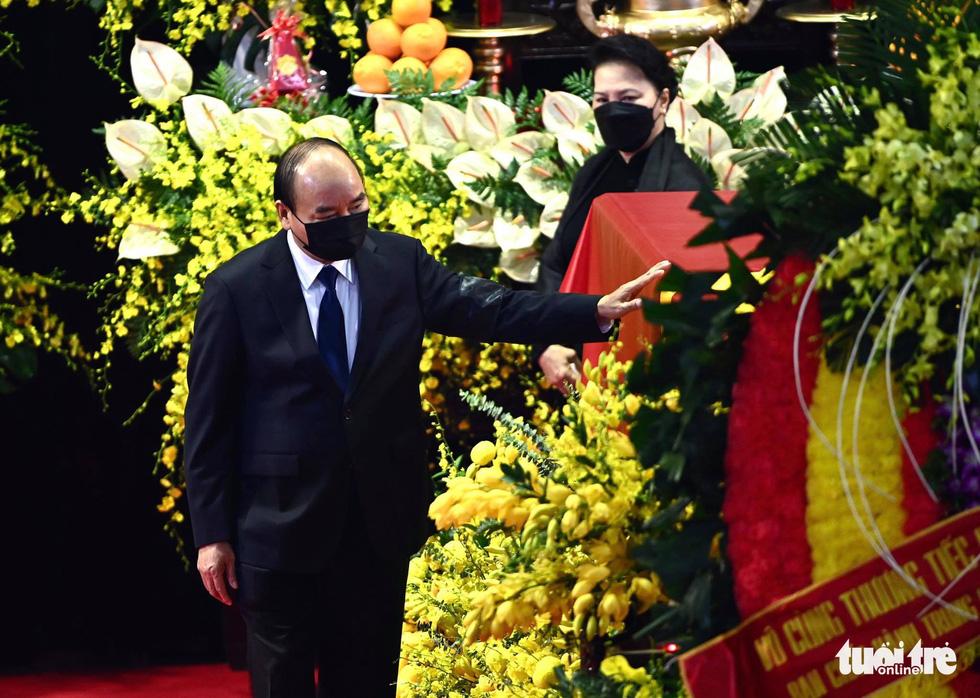 Hai ngày quốc tang, tưởng nhớ và tiễn biệt nguyên Tổng bí thư Lê Khả Phiêu - Ảnh 2.