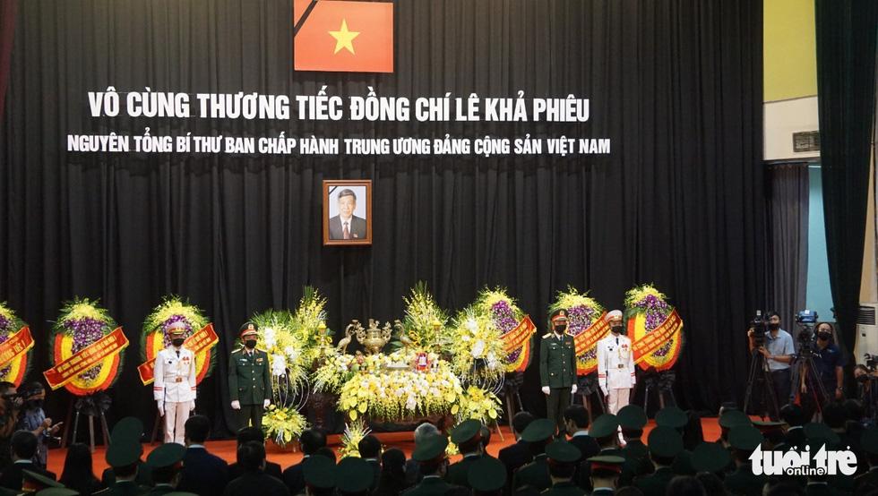Hai ngày quốc tang, tưởng nhớ và tiễn biệt nguyên Tổng bí thư Lê Khả Phiêu - Ảnh 25.