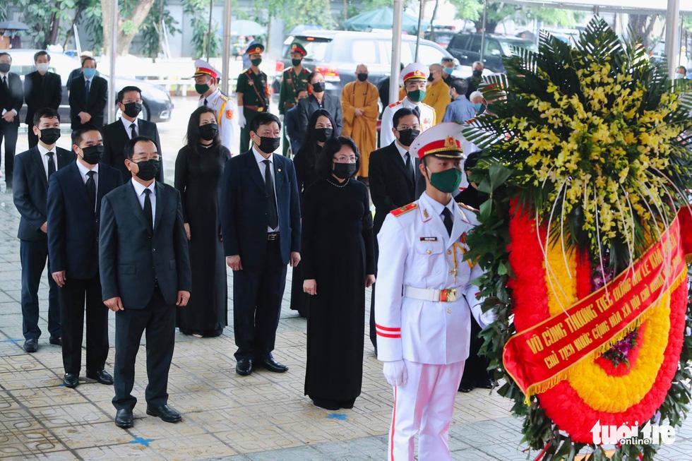 Hai ngày quốc tang, tưởng nhớ và tiễn biệt nguyên Tổng bí thư Lê Khả Phiêu - Ảnh 11.