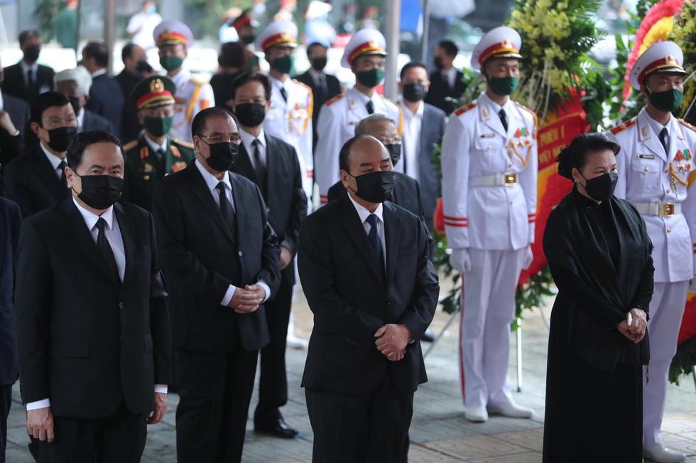 Hai ngày quốc tang, tưởng nhớ và tiễn biệt nguyên Tổng bí thư Lê Khả Phiêu - Ảnh 3.