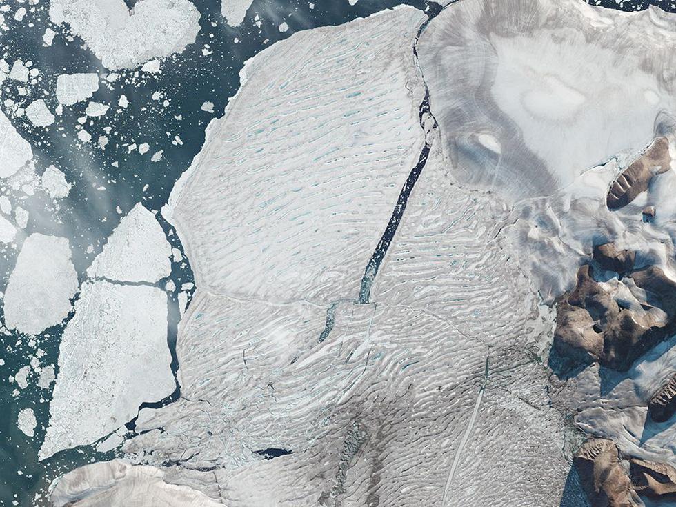 Bắc Cực biến dạng, nguy cơ mùa hè 2035 không có băng - Ảnh 8.