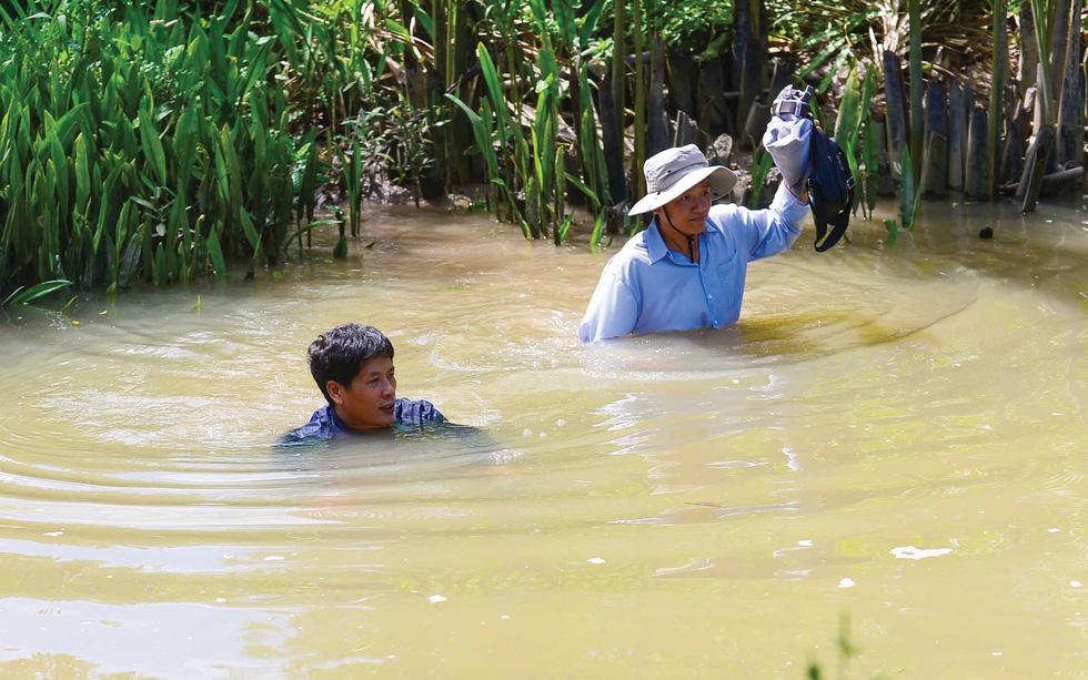 Băng sông Soài Rạp, nước sạch về Cần Giờ - Ảnh 4.