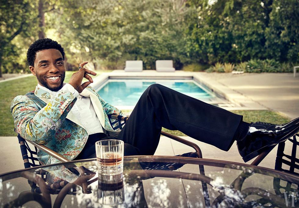 Báo đen Chadwick Boseman - vua Wakanda uy dũng trong lòng người hâm mộ - Ảnh 6.