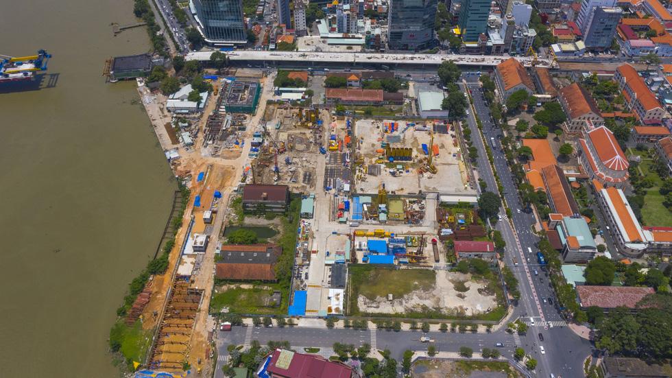 Ngắm hình hài dự án metro số 1 Bến Thành - Suối Tiên sắp hình thành - Ảnh 4.