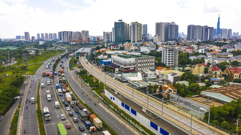 Ngắm hình hài dự án metro số 1 Bến Thành - Suối Tiên sắp hình thành - Ảnh 7.