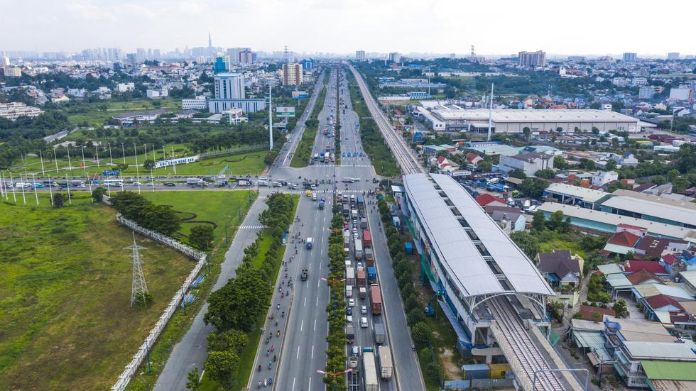 Ngắm hình hài dự án metro số 1 Bến Thành - Suối Tiên sắp hình thành - Ảnh 9.
