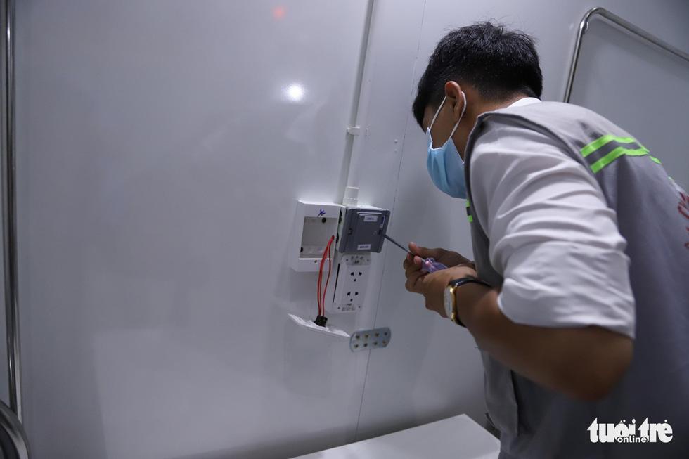 Cận cảnh bệnh viện dã chiến tại Đà Nẵng trước giờ bàn giao - Ảnh 4.