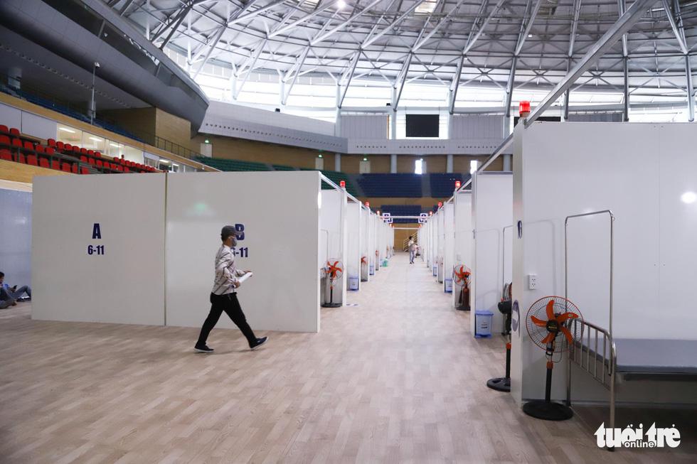 Cận cảnh bệnh viện dã chiến tại Đà Nẵng trước giờ bàn giao - Ảnh 2.
