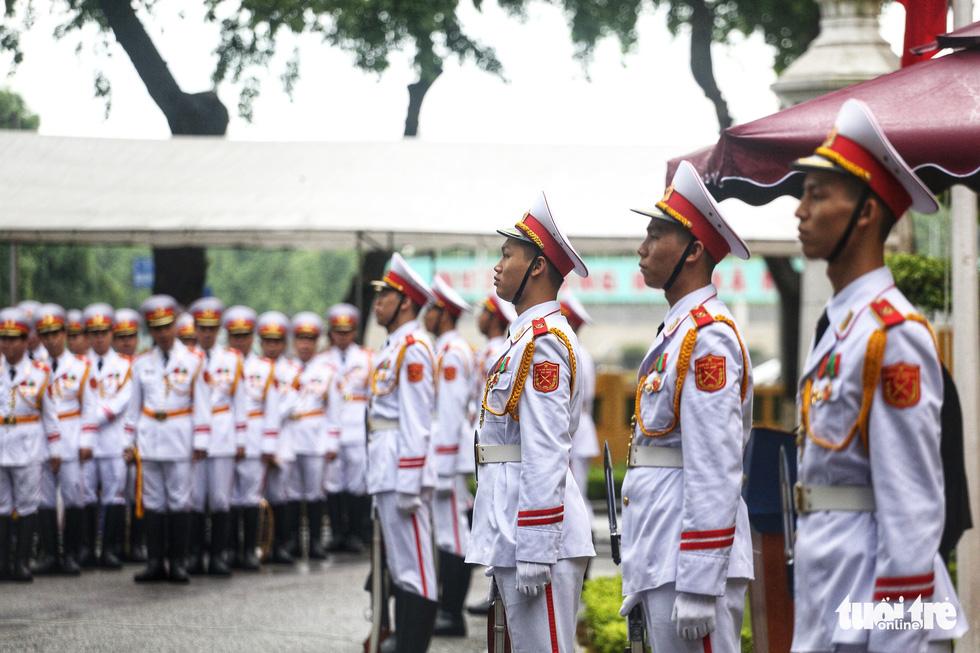 Lễ thượng cờ kỷ niệm 53 năm thành lập ASEAN - Ảnh 4.