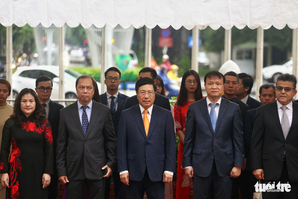 Lễ thượng cờ kỷ niệm 53 năm thành lập ASEAN - Ảnh 3.