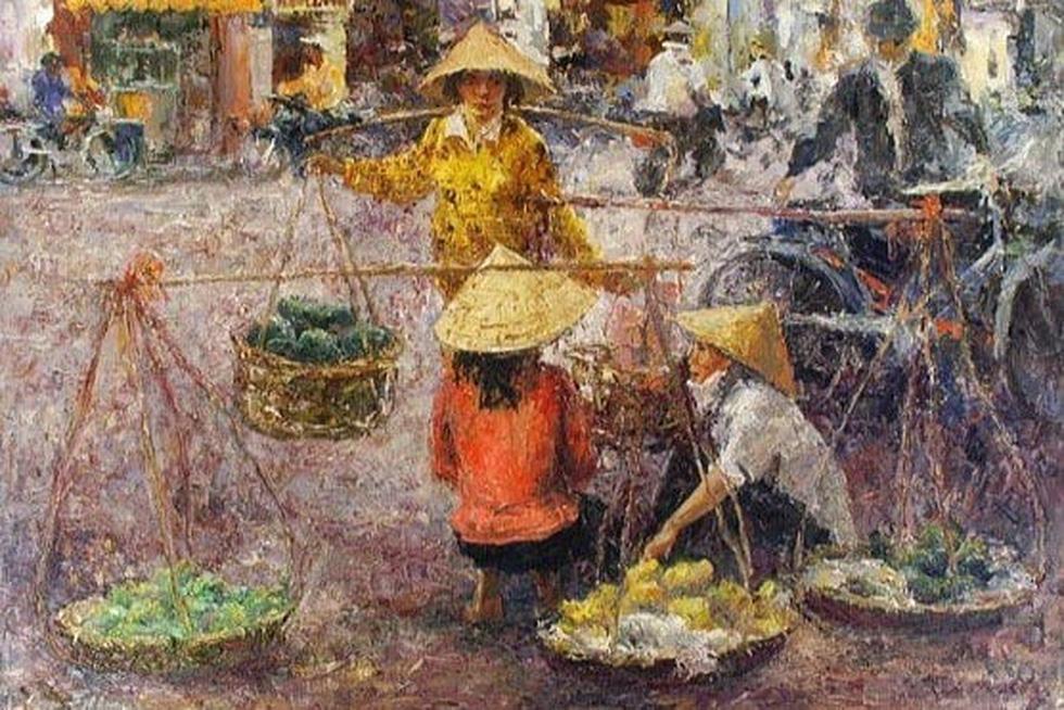 Tuman Zhumabaev - họa sĩ Nga mê Việt Nam đắm đuối - qua đời - Ảnh 7.